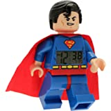 [レゴ]LEGO Kids' Super Heroes Superman Alarm Clock 9005701 [並行輸入品]