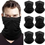 Neck Gaiter 6 Pack, Face Mask, ElasticBalaclava, Face Scarffor Men and Women