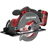 CRAFTSMAN V20* 6-1/2-Inch Cordless Circular Saw Kit (CMCS500M1)