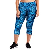 Just My Size Women's Plus Size Active Stretch Capri