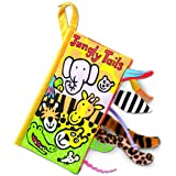 Jellycat Soft Cloth Baby Books, Jungly Tails