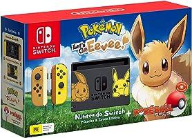 Nintendo Switch Console Pokemon Lets Go Eevee Edition