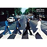BEATLES ビートルズ (LET IT BE 50周年記念) - Abbey Road/ポスター 【公式/オフィシャ…