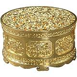 SENYON お香立て 合金製 香道 香炉 線香 (ゴールド)