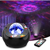 Riarmo Galaxy Star Projector, [2020 Upgraded] Night Light Projector with Music Speaker & Remote Control for Bedroom/Party/Hom
