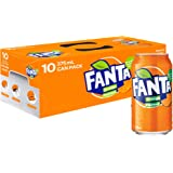 Fanta Orange Soft Drink Multipack Cans, 10 x 375 ml