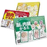 筋肉かるた+骨かるた+脳と内臓かるた 解剖学かるた3点セット
