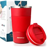 Tumbler 18 Oz Stainless Steel Vacuum Insulated Travel Mug Water Coffee Cup for Home Office Outdoor Works Great for Ice Drinks
