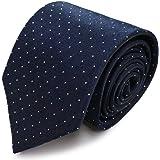 MICHIKO LONDON【ミチコロンドン】ブランドネクタイ 日本製 シルク100% ジャガード織 織柄 ピンドット