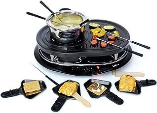 グルメット キッチン 調理器 ホットプレート オランダ ラクレットグリル フォンデュセット 石焼プレート付 Total Chef