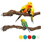 Bird Perch Stands Natural Grapevine Bird Cage Perch for Parrot Cage Accessories (Style-1)
