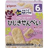 Pigeon Rice Biscuit, Seaweed, 2 pieces, Pack of 6