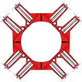 コーナークランプ 木工 DIY専門誌 ドゥーパ!掲載モデル メーカー3年保証 溶接 直角 固定 90度 diy 取り扱い説明書付属 (4個セット) NESHEXST