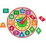 Melissa & Doug 8593 Shape Sorting Clock - Wooden Educational Toy