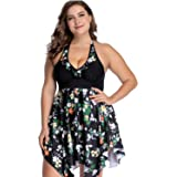 sanatty Womens Summer Floral Printed Tunic Shirt Sleeveless Cami Tank Tops