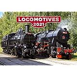 Train Calendar - Calendars 2020 - 2021 Calendar - Steam Train Calendar - Photo Calendar - Locomotives Calendar by Helma