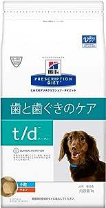 【療法食】 プリスクリプション・ダイエット ドッグフード t/d ティーディー 小粒 チキン 1kg