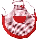 Pixnor Vintage Style Apron Shabby Chic Floral Polka Dot 1950's Ditsy Retro Sugarcraft