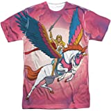 Trevco Men's She-Ra Double Sided Print Sublimated T-Shirt