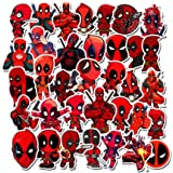 EQMZAD Deadpool Stickers for Water Bottles,Aesthetic Stickers for Teens,Girls,Kids,Laptop,Phone,Travel Extra Durable