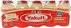 Yakult Cultured Milk Drink Original, 100ml (Pack of 5) - Chilled