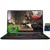 """2021 MSI GE75 Raider 17 Premium Gaming Laptop I 17.3"""" FHD IPS 144Hz I Intel Hexa-Core i7-10750H I 64GB DDR4 1TB SSD 1TB HDD I"""