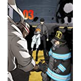 【Amazon.co.jp限定】炎炎ノ消防隊 弐ノ章 Blu-ray 第3巻 (特典:描き下ろしアクリルスタンド[秋樽 桜備])