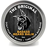 Badass Beard Care Beard Balm For Men - The Original Scent, 60ml - All Natural Ingredients, Soften Hair, Hydrate Skin to Get R