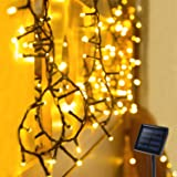 OxyLED Solar String Lights Outdoor, 72ft 200 LED Solar Led Fairy String Light Solar Powered, Decorative Lights Waterproof for