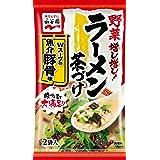 永谷園 野菜増し増しラーメン茶づけ Wスープの魚介豚骨味 2食入×10袋