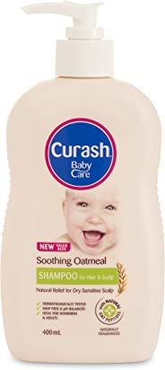 Curash Soothing Oatmeal Conditioning Baby Shampoo 400ML