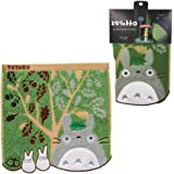 "Marushin My Neighbor Totoro ""Totoro and Acorn Tree"" Mini Towel - Official Studio Ghibli Merchandise"