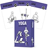 Yoga Cards, Pose Sequence Flow - 70 Yoga Poses, 9 Sequences - Sanskrit & English Asana Names - Yoga Sequencing & Flow Practic