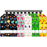 Simple Modern Reusable Food Pouches 10-Pack 5oz - Baby Food Storage Toddler Kids Squeezable Pouch Washable Freezer Safe - 5 F