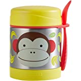 Skip Hop Baby Zoo Insulated Food Jar and Spork Set, Marshall Monkey