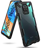 【Ringke】Xiaomi Redmi Note 9S ケース ストラップホール アーマー ケース [米軍MIL規格取…
