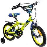 子供用自転車 Cyfie 鷹さん 泥除け付き 補助輪付き 滑り止めハンドル付き 簡単に安装 幅が広いタイヤ 安全 丈夫…