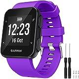 GVFM Band Compatible with Garmin Forerunner 35, Soft Silicone Watch Band Strap for Garmin Forerunner 35 Smart Watch, Fit 5.11