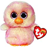 Ty UK Ltd 36247 Beanie Feathers Chick Easter-Boo-Reg, Multicoloured
