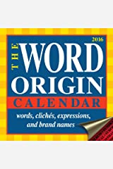 Word Origin 2016 Day-to-Day Calendar Kindle Edition