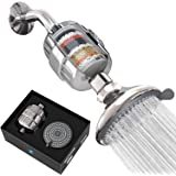 SparkPod Filter Shower Head - High-Pressure Water Filtration for Chlorine & Harmful Substances (Reduces Eczema & Dandruff) -