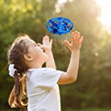 BlueFire Mini Drone for Kids Hand-Controlled Flying Ball Portable Pocket Quadcopter with 360°Rotating and Shinning LED Lights