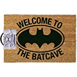 Officially Licensed DC Comics Batman Welcome To The Batcave Doormat