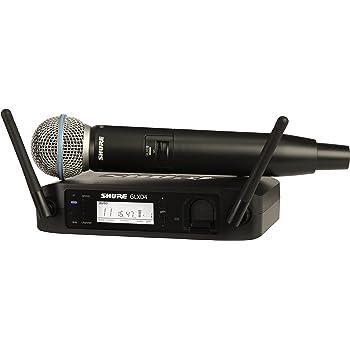 SHURE ワイヤレスマイク ハンドヘルド型 ワイヤレスシステムセット GLXD24J/BETA58 【国内正規品】