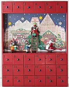 カルディ オリジナル クリスマスウッドボックスカレンダー 2018 クリスマス