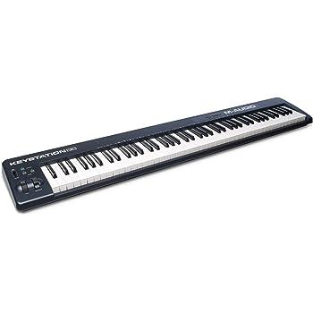 M-Audio USB MIDIキーボード 88鍵 ピアノ音源ソフト付属 Keystation 88