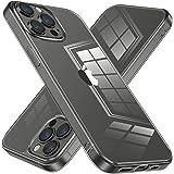 NIMASO ケース iPhone13promax 用 保護 カバー クリア tpu バンパー 強化ガラス ケース iphone13 pro max 用 iphone13プロマックス 軽量 衝撃吸収 NSC21H296