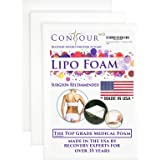 "Post Surgery Foam Sheets, Surgical Compression Garments ContourMD, 8""x 11"" Sheet"