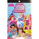 UPD Disney Princess Sticker Pad 200 + Stickers