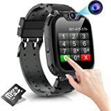 Kids Smart Watch for Boys Girls- Kids Smartwatch Phone with 7 Games Camera Recorder Alarm Music Player Calculator 12/24 hr HD